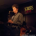 Anton Performing with Ed Reed (vocal), Randy Porter (piano), Ugonna Okegwo (bass), Akira Tana (drums). Scullers Jazz Club, Boston, MA. January 18, 2012. Photo by Zarmik Maqtaderi.