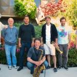 Bud, John, Lorca, Anton, Taylor, Dominick, Dan. Fantasy Studios, Berkeley, CA, May 30, 2013. Photo by Chuck Gee.