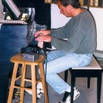 Paul Nagel. The 'When Music Calls' CD recording session, November, 1997.
