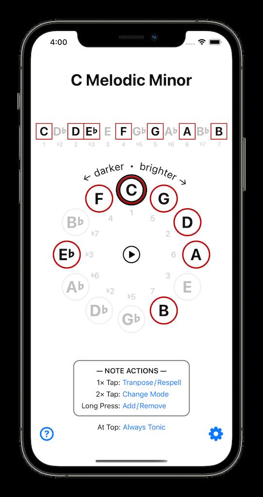 ScaleMate App
