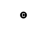 C major scale (in circle)